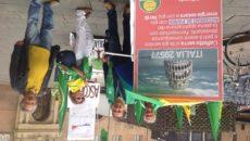 I verdi in piazza maggiore a Bologna in giugno in occasione del G7 Ambiente con un flash Mob informativo I Verdi contestano il G7 sull'ambiente : nessun bollino verde al […]