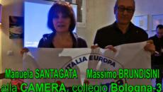 Manuela Santagata e Massimo Brundisini, candidati Verdi alla Camera, per la Lista INSIEME
