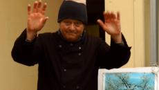 Stefano Fogacci, pioniere dell'agricoltura biologica, vota per la Lista INSIEME.