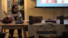 Syusy Blady, presentando il suo ultimo libro, IL PAESE DEI CENTO VIOLINI, con i candidati Verdi Massimo Brundisini e Manuela Santagata, annuncia che voterà coi Verdi, per la Lista INSIEME.