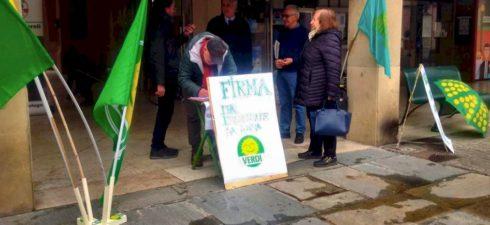 Domenica 14 aprile, in occasione della messa a dimora di un tiglio nell'area verde a fianco della stazione delle corriere, abbiamo presentato la lista dei Verdi che si candiderà per […]
